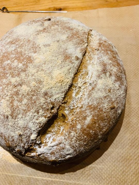 Homemade malt loaf