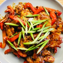 Peking Pork With Red Peppers